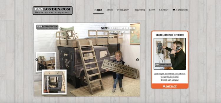 vanlonden.com website